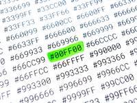 Les codes couleurs du Web